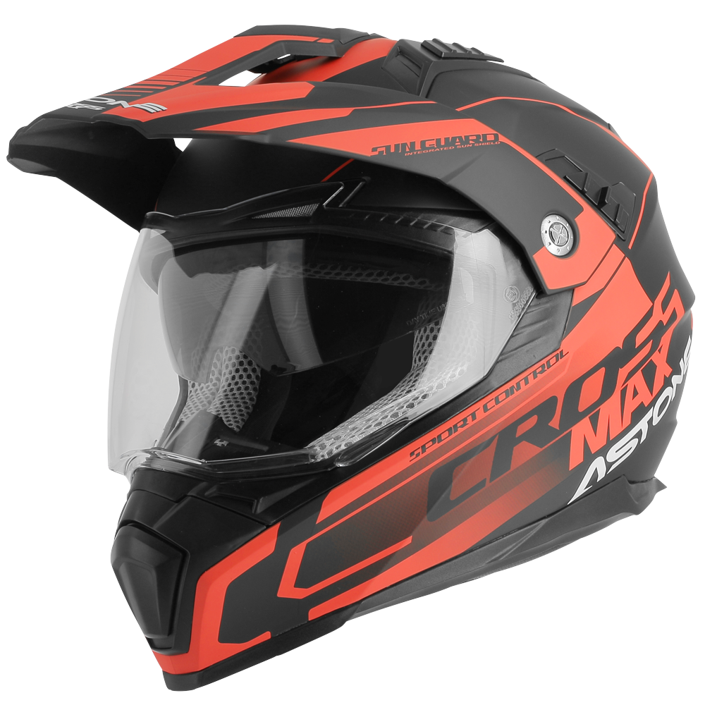 CROSSMAX ROAD NEGRO/ROJO