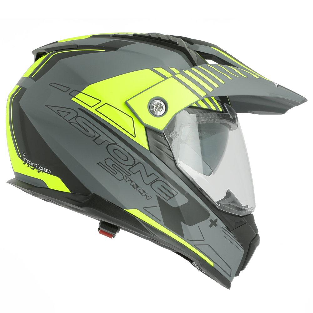 CROSSMAX S-TECH GRIS/JAUNE