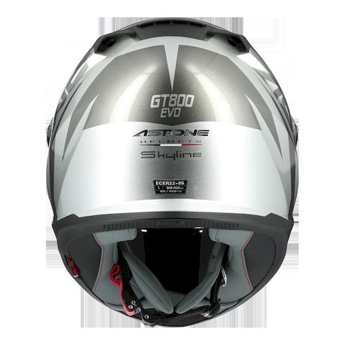 GT800EVO SKYLINE NOIR/ARGENT