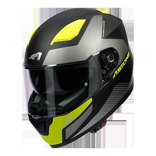 GT900 RACE NEGRO/AMARILLO
