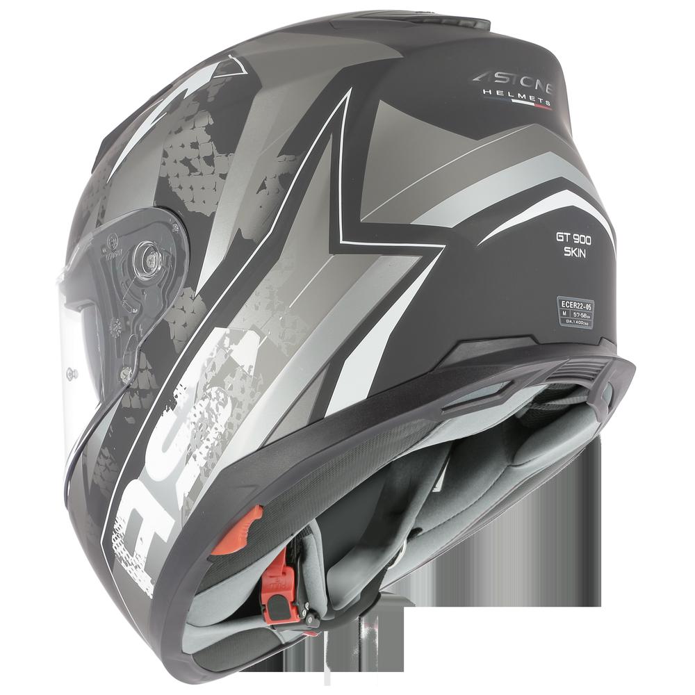 GT900 SKIN NEGRO/GRIS