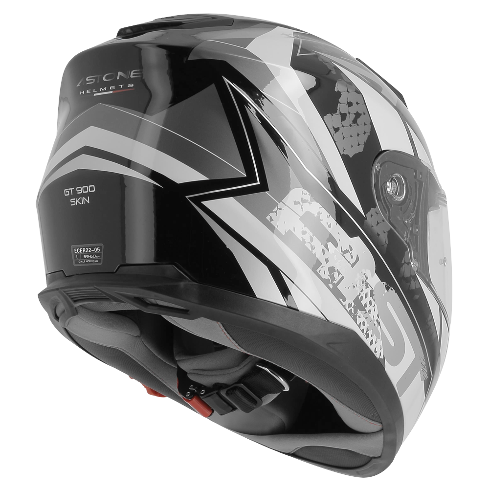 GT900 SKIN NOIR/BLANC