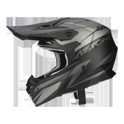 MX800 RACERS GRIS/NOIR