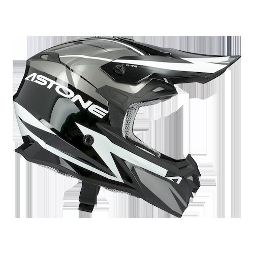 MX800 RACERS GRIGIO/BIANCO