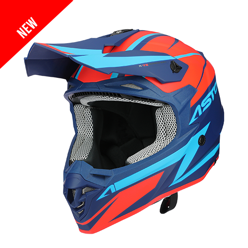 MX800 RACERS ORANGE BLEU