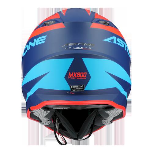 MX800 RACERS ORANGE BLEU