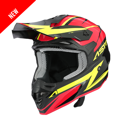MX800 RACERS ROUGE JAUNE