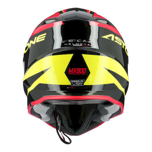 MX800 RACERS ROUGE JAUNE