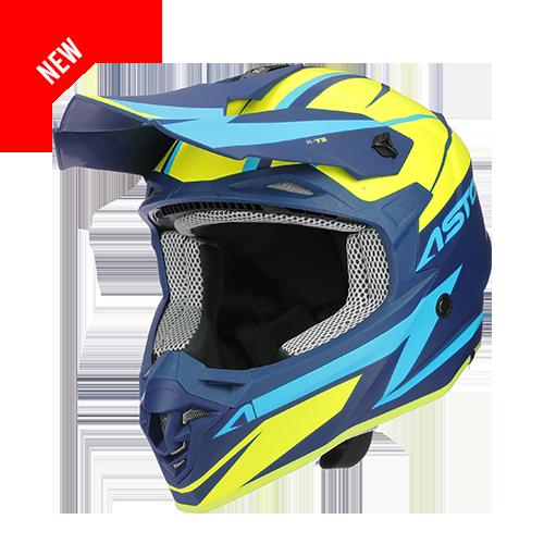 MX800 RACERS BLEU/JAUNE