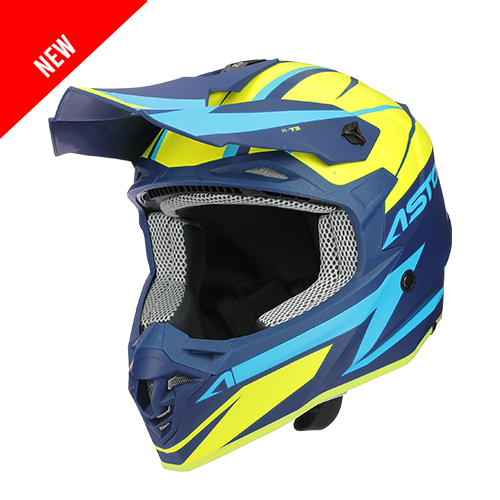 MX800 RACERS BLU/GIALLO