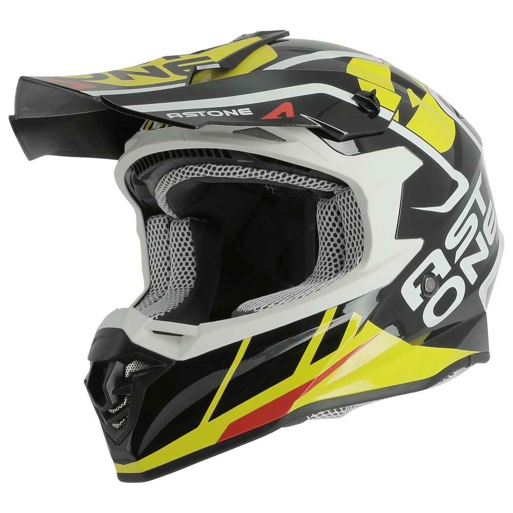MX800 TROPHY BLACK/YELLOW