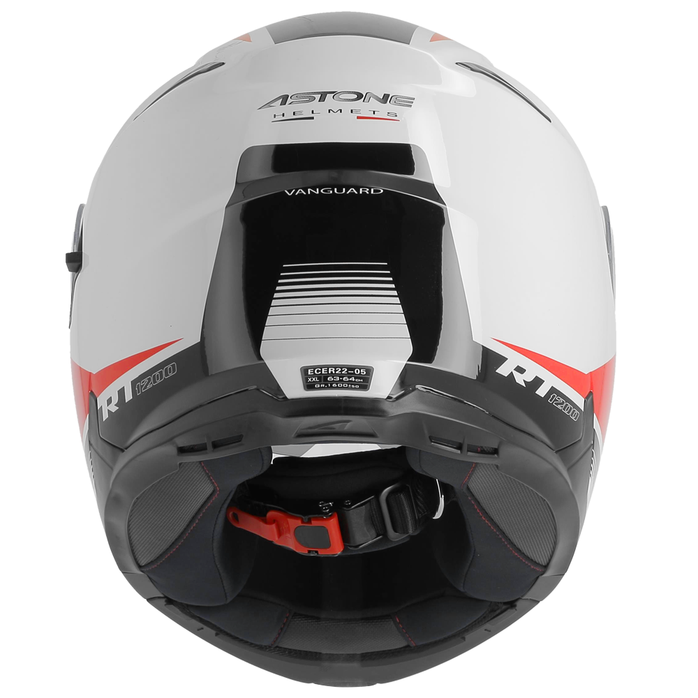 RT1200 VANGUARD WHITE/RED